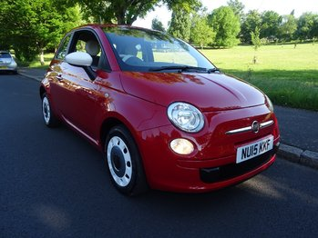 FIAT 500 Start-Stop Colour Therapy - FINANCE + 12 MONTHS MOT + NEW SERVICE